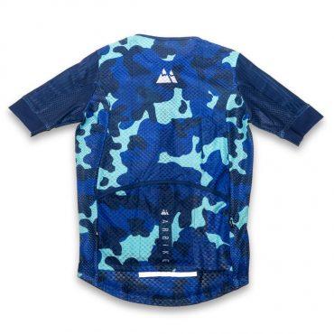 Maillot Azul Camuflaje PRORACE