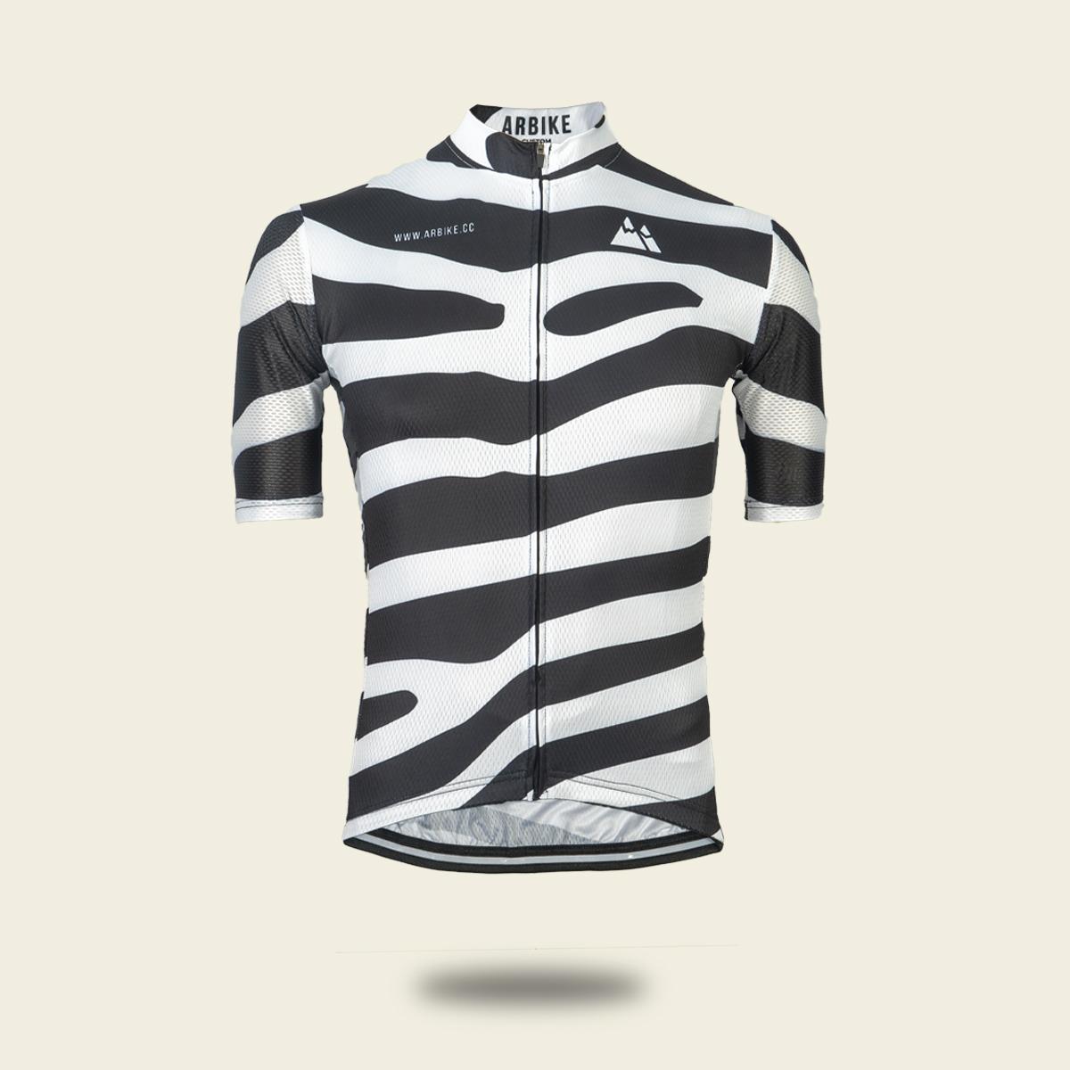 maillot zebra ciclismo carretera